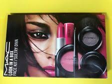 mac cosmetics look in a box face kit sultry diva limited edition new in box