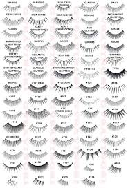 Fake Eyelash Size Chart Complete Ardell Lash Styles Chart Anyone Try The Half Sets