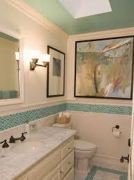 40 blue mosaic bathroom tiles ideas and