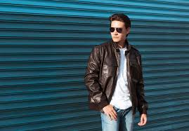 top 10 mens leather jacket brands 2018