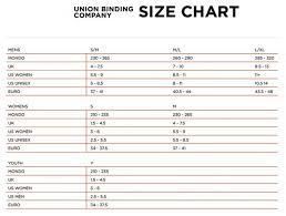 Size Chart For Snowboard Bindings Www Bedowntowndaytona Com
