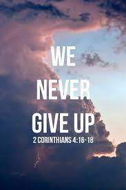 Bible Quotes About Not Giving Up Extraordinary Intl Day Of Bible On Twitter We Never Give Up 488 Corinthians 4848