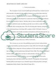 Example Of Career Aspiration Breakthrough Career Aspiration Research Paper Example Topics And