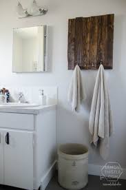 Diy Bathrooms Renovations Remodelaholic Diy Bathroom Remodel On A Budget And Thoughts On