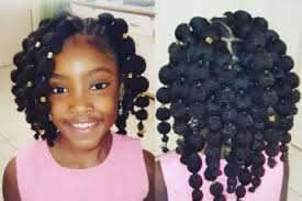 try this hair puff hairstyle on your little