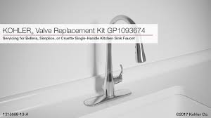 Replacing A Kitchen Sink Faucet Valve Replacement For Bellera Simplice Or Cruette Kitchen Sink