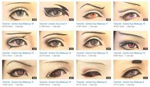 cosplay eye makeup