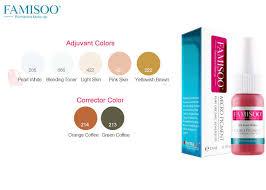 corrector adjuvant permanent makeup