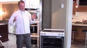 new kitchenaid slide in range unboxing
