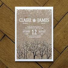 Christmas Wedding Save The Date Cards Winter Snow Wedding Invitation Feel Good Wedding Invitations