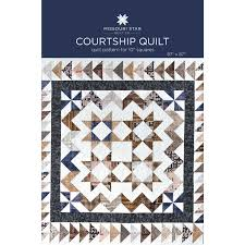 Courtship Quilt Pattern by MSQC - MSQC - MSQC — Missouri Star ... & Courtship Quilt Pattern by MSQC Adamdwight.com