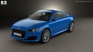 360 view of Audi TT (8S) coupe 2015 3D model - Hum3D store