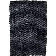 wyome chunky weave jute rug charcoal