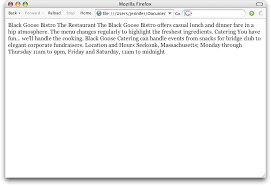 CHAPTER 4 CREATING A SIMPLE PAGE - Learning Web Design, 3rd Edition ...