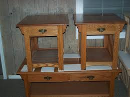 Craftsman Style Coffee Table Mission Style End Tables