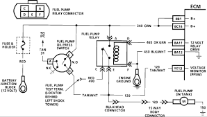 90 chevy corsica fuel pump relay another pin need to be grounded Oil Pump Wiring Diagram Oil Pump Wiring Diagram #6 rain oil pump wiring diagram
