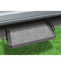 redneck trailer supplies prest o fit 18in castle gray outrigger rv step rug 2 0313