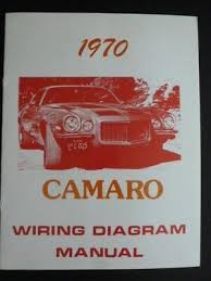 american vehicles books manuals automobilia transportation 1970 chevrolet camaro wiring diagram manual