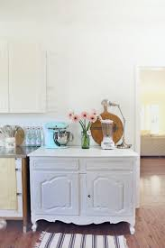 Unfitted Kitchen Furniture The New Vintage Old Dresser In The Beach Cottage Kitchen Mini