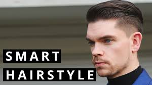 Smart Hair Style mens formal and evening hairstyle how to youtube 7703 by wearticles.com