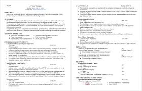 Ccna Resume Previous Experience 3 Making A Good Resume 15 Tips On