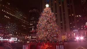 Duizenden Lampjes En Swarovski Piek Sieren Kerstboom New York Nu