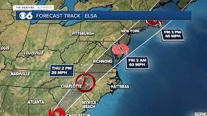 Elsa Forecast Track: Here's how Elsa ...