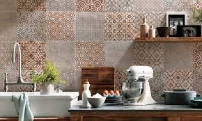 Tiled kitchen walls ideas and trendy colors