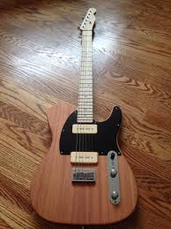 Warmoth Color Chart Custom Warmoth Telecaster With P90s Mahogany Body With