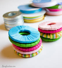 Pattern Weights Impressive DIY Pattern Weights Ribbon Wrapped Washers