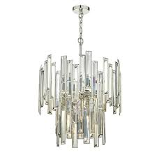 odile 6 light crystal pendant odi0620