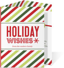 Trifold Holiday Cards Purpletrail