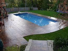 Rectangle Shape Pools Lifestyle Fiberglass Pools
