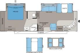 travel trailer floor plans front kitchen