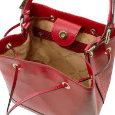 tuscany leather tl bag soft leather bag with tassel detail and shoulder strap cognac