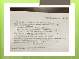 ap lit exam q essay the prose prompt strategies and notes ppt  5