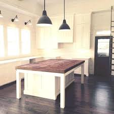 kitchen island table on wheels. Island Table For Small Kitchen And Farmhouse Other Angle On Wheels