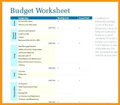 How To Make A Simple Budget Spreadsheet How To Make A Budget