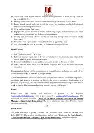 job post project manager nlu delhi s center on the death penalty nlu delhi job post page 002