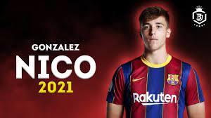 Nico Gonzalez 2021 - The Future Of Barcelona 🔥🔥 - Amazing Skills Show -  HD - YouTube