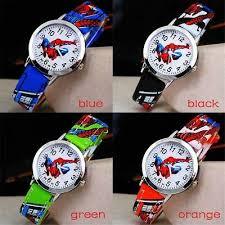 Ruislee <b>Hot Sale SpiderMan Watch</b> Cute Cartoon Watch Kids ...