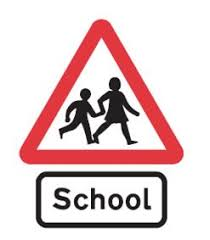 Image result for school road sign