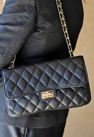 Shoulder bag : BIANCA NAVY BLUE ITALIAN LEATHER QUILTED SHOULDER BAG & BIANCA BLACK QUILTED HANDBAG LIFESTYLE IMAGE Adamdwight.com