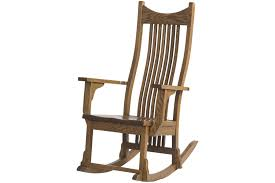 western rocking chair in um oak
