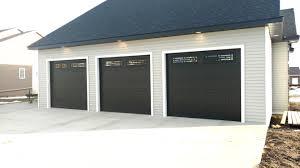 black garage doorsBlack Garage Doors Are Still On The Rise