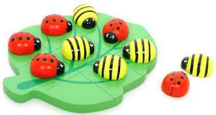 Wooden Naughts And Crosses Game Wooden Naughts Crosses Ladybug Bee Game at My Wooden Toys 11