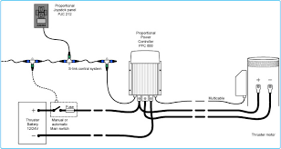proportional power controller side power Bow Thruster Wiring Diagram proportional power controller max power bow thruster wiring diagram