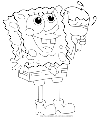 Nice Spongebob Coloring Pages Ideas For Your K 183 Unknown