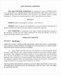 Business Purchase Agreements - Resume Template Ideas
