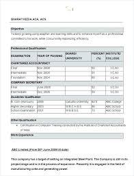 Microsoft Word Resume Format – Armni.co